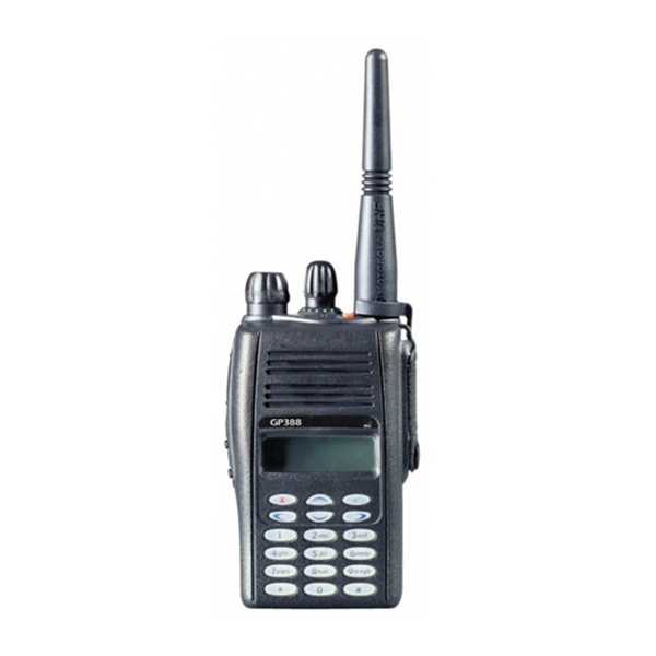 GP388 VHF/UHF handheld two way radio walkie talkie