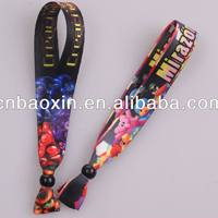Promotional Gifts Colorful Satin Ribbons Bracelet