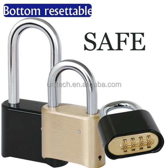 30mm 3 dial Resettable brass padlock