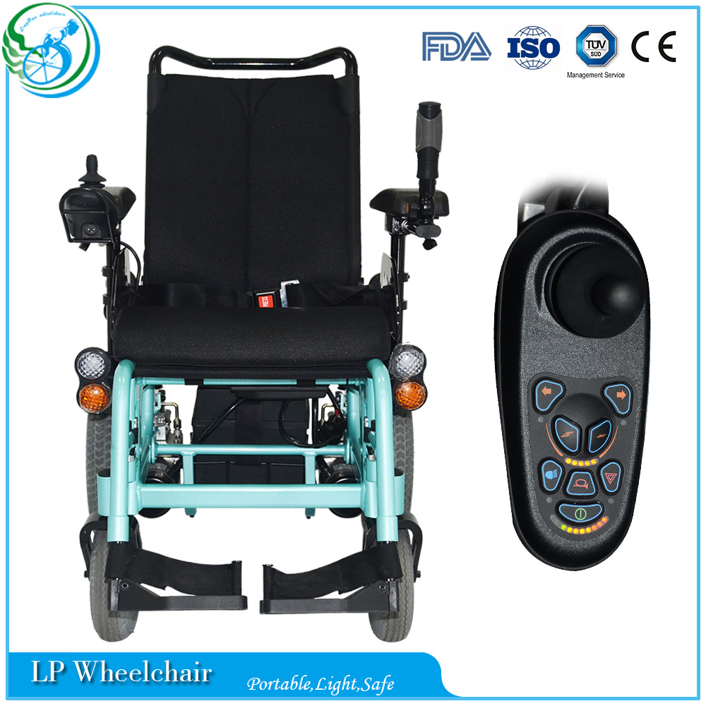 Outdoor luxury high back reclining electric wheelchair Luxury wheelchairs