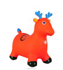 PVC inflatable jumping animal jumping horse with colorful printing