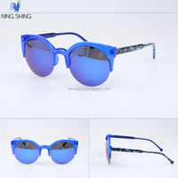 China Online Selling Fashion Brand Mirror Trendy Sunglass Wholesale Logo Printing Sunglasses