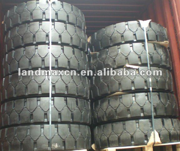 Solid Tires for forklift, skid-steer and loaders