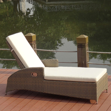 Garden Treasures Outdoor Furniture cheap Folding Lying Bed Beach Swimming Pool lounge chair
