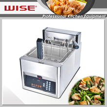 Top Quality Commercial Automatic Basket Lift Deep Fat Fryer 12L Commercial Kitchen Equipment