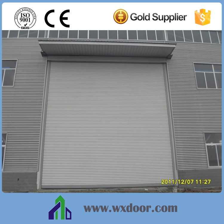 Industrial roll up gate/CE certificate