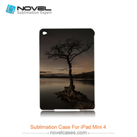 Blank sublimation case 3D film cover for iPad mini4