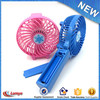 12v battery rechargeable fan plastic fan with lithium battery for cooler