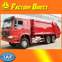 Sinotruk HOWO 10-18m3 Hydraulic Garbage Compactor Truck 6x4 10 Wheels Waste Collector Truck China big Garbage Truck for sale