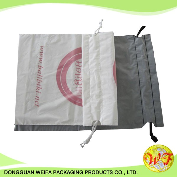 Cheap Plastic Drawstring Bags Wholesale With Logo on Alibaba