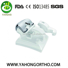 2018 Top-Selling Dental orthodontic Ceramic Self-Ligating Bracket with good quality