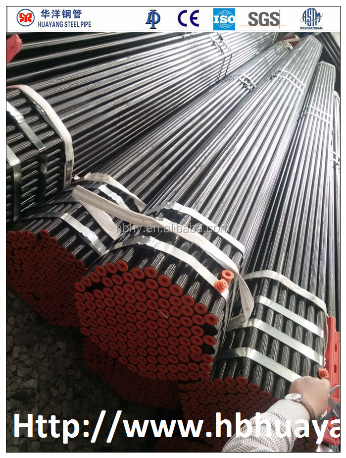 Small welded steel pipe/TUBE ERW API ASTM 53GR.B/BS1387