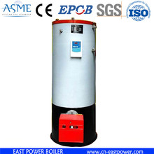 oil gas fire tube vertical steam working simple vertical boiler