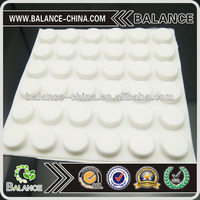 Sticky adhesive silicone rubber pad furniture rubber foot pad