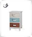 Industrial wood furniture living room cabinet with nature wood