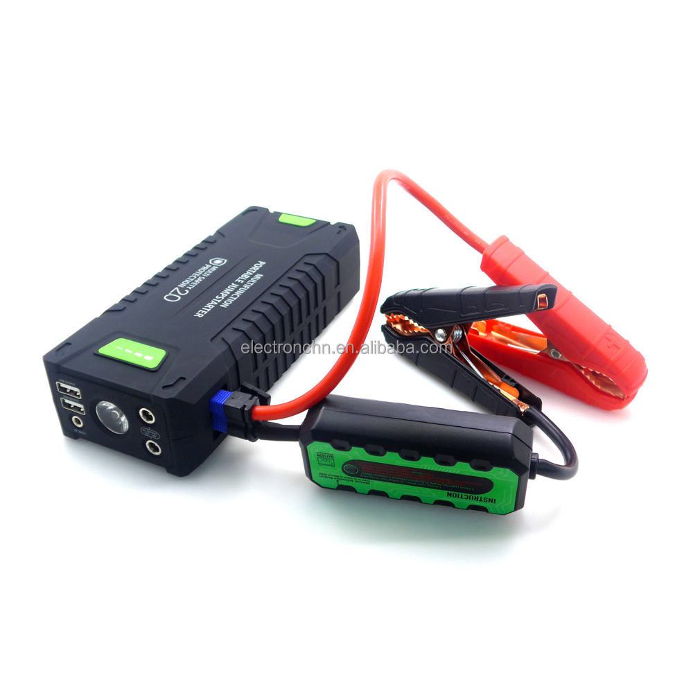 8.0L car booster jump starter 12V 20000mAh portable car battery for diesel car