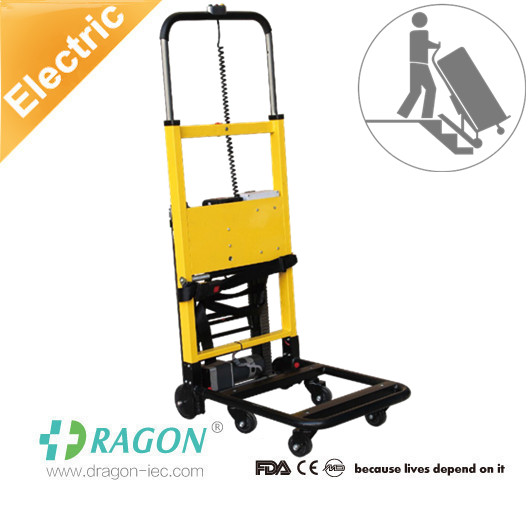 Medical used foldable stair climbing hand truck