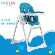 foldable easy metal/plastic sitting softextile soft foam table dining and feeding eat adult child /<strong>kids</strong>/baby doll high chair