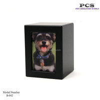 MKY Photo Frame Wooden Pet Cremation Wholesale Urns