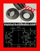 silicone rubber thread cover joint cover rubber rubber roller cover