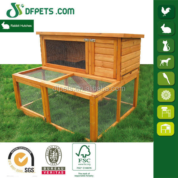 DFPets DFR066 Wooden Rabbit Breeding Cages Pet Product