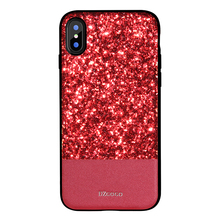 DZGOGO Luxuxy bling style back cover mobile phone case for iPhone X phone shell