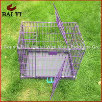 Weld Wire Mesh Folding Dog Kennel With Good Design
