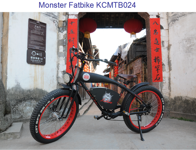 made in China cheap electric bicycle for sale fat tire electric fat bicycle KCMTB024