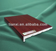 PVC window sill , wood design windowsill