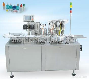Automatic Eyedrop/electronic cigarette oil liquid bottle Filling Capping machine