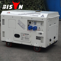 BISON(CHINA) Silent Diesel Generator set 8.5 kw, Honda Diesel Generator for market sale