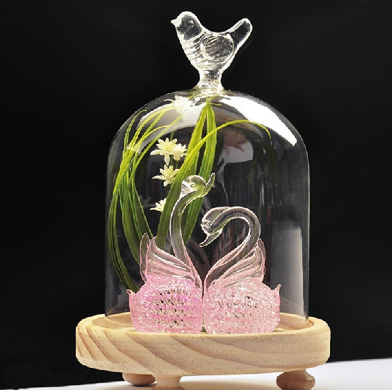Hight quality !! hanging glass ball terrarium vase flower