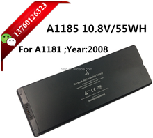 "Original black laptop battery 10.8V/55WH A1181 2008 year MA561 For Apple MacBook 13"" MA254 MA255 MA699 MA700 A1185 battery"