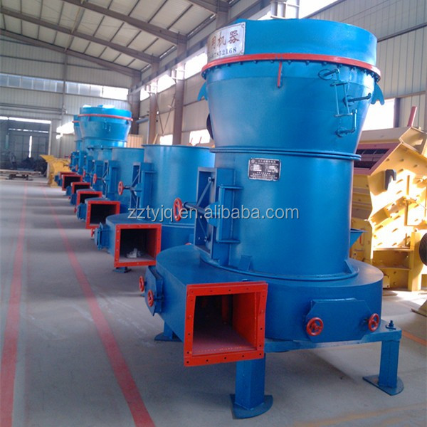 High Efficiency 3,4,5,6 Rollers Raymond Grinder Mill with good price