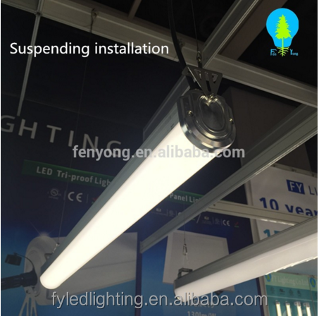 1.2m tri-proof led lighting fixture,water proof light fittings,20-88W led light fixture