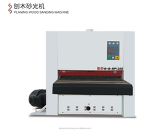1300mm Wide belt Wood Planing Machine With Surface Sanding for Flat Grinding Woodingwork