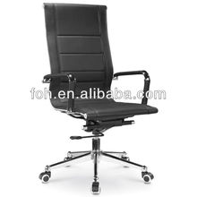 modern chair high back office chair, leather office chair with slim legs(FOHF13-A1)