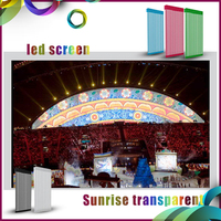 Sunrise best selling outdoor full color DIP jumbotron led display window led strip hot selling