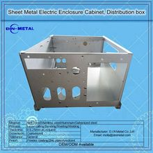Aluminum Alloy Case Sheet Metal Enclosure Shell Case Design for Electronic Industrial