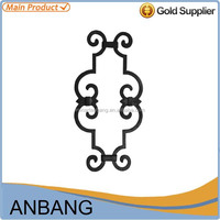 Alibaba express natural factory price whole sale cast iron balster rosettes