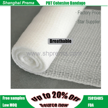 High Quality PBT Coheisve Bandage bandage for pressure ulcers