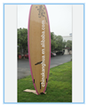 rose red color high quality professional stand up paddle boards/surf boards