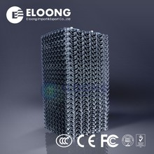 Plastic PVC Reduce The Footprint Cooling Tower Fillers Tube Settler Media