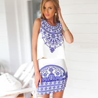 2016 wholesale sexy party batik casual dress sundresses women summer dress