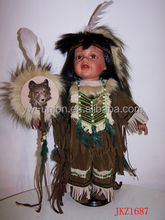 Baby Indian style hand made porcelain dolls
