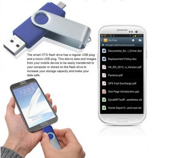 Manfacturer price smart phone Otg Usb Flash Drive,Usb Flash Memory Otg usb disk,Usb 3.0