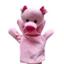 Custom Stuffed Full Body Human Doll Small Pig Hand Puppets For Sale