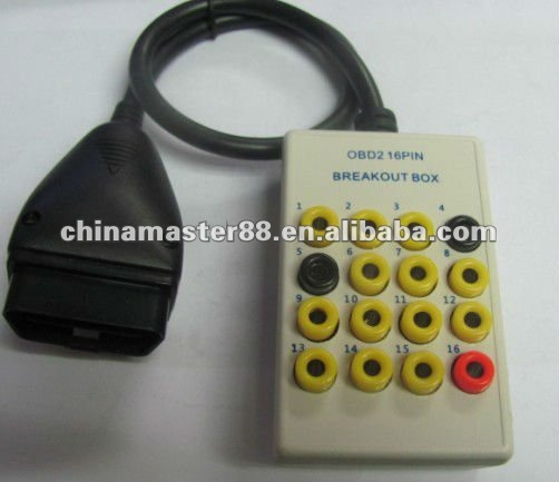 Light duty OBD2 16pin Breakout box