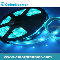 led strip light rgb DC12V/24V 5050 DMX RGB cheap led light bars dmx strip led light