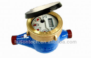 LXS-15F3 MJ Liquid Sealed Vane Wheel Water Flow Meter Class C